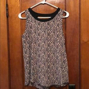Tank w/ back cut out - Papermoon for Stitch Fix